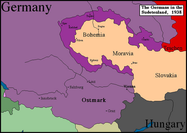 Chapter 17 Section 1: Sudetenland