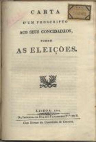 São estabelecidas as normas para a eleição dos deputados às Cortes