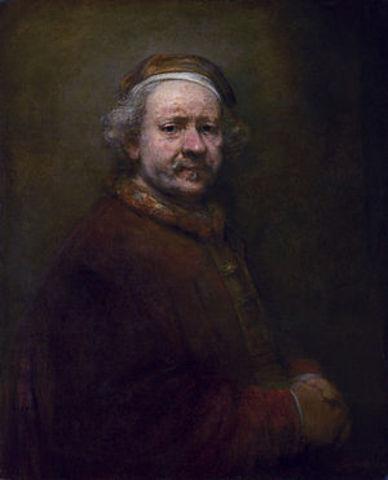 Rembrandt pintó su último autorretrato