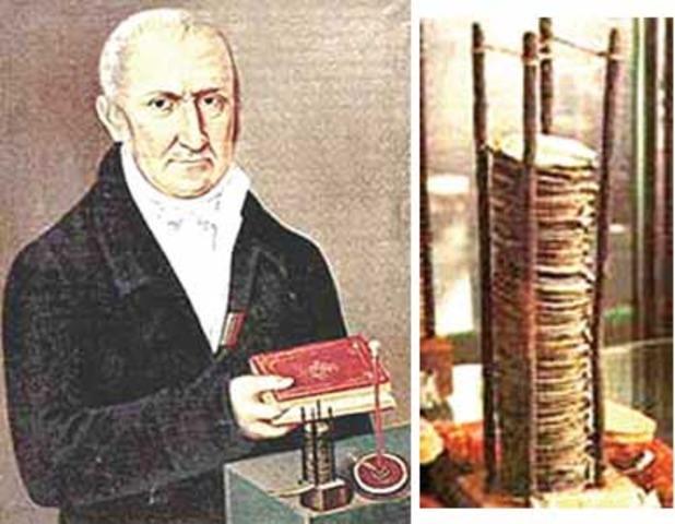 Alessandro Volta y sus invenciones 1775 d.C