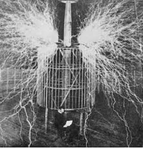 Tesla y la corriente alterna 1880d.C