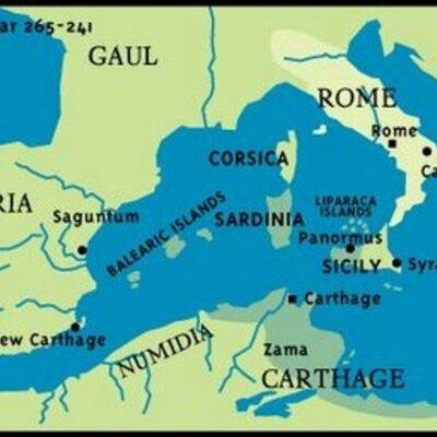 Punic wars timeline