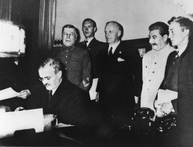 The Ribbentop/ Molotov Pact