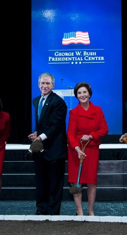 100 Letters Campaign launched for Bush family, presidential center
