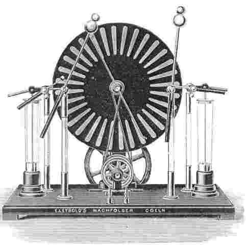 Primera Maquina Electrostática