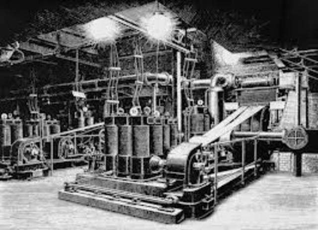 Fucion de deutsche Edison gesellschaft y siemens und halske