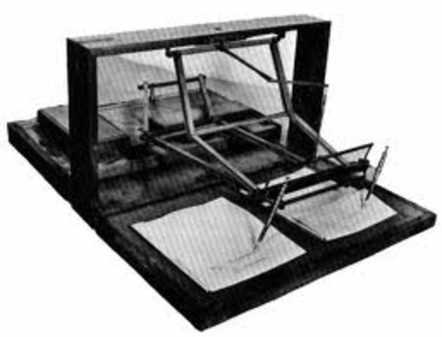 First polygraph (lie detector)