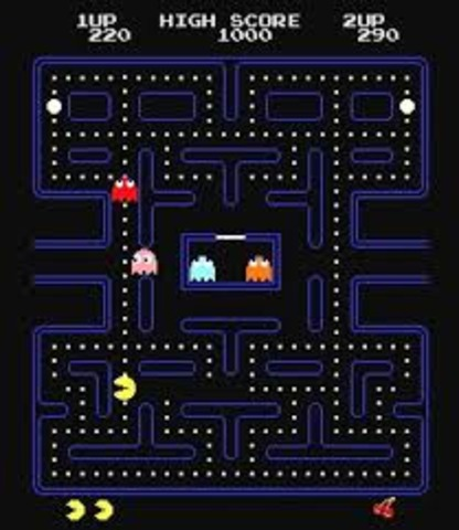 The first pac man