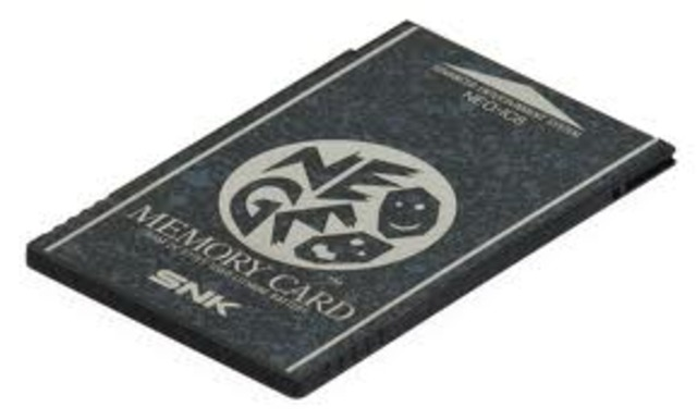 First memory card