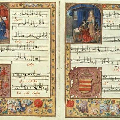 Origen i evolucio de l'escriptura musical timeline