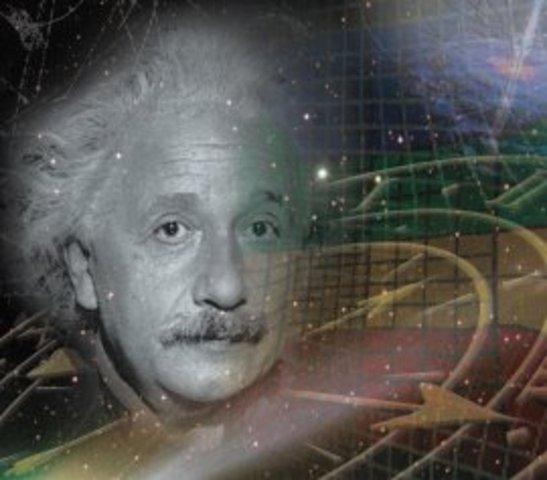 Einstein, Teoria sobre el efecto fotoelectrico.