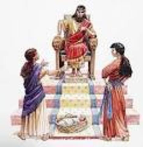 King Solomon's Reign: 1 King 1