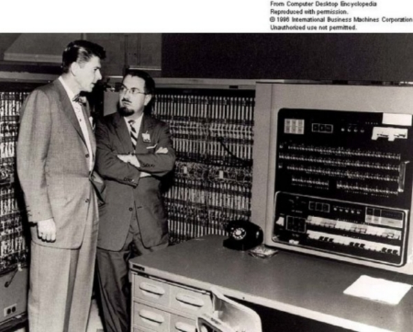 First electronic computer.