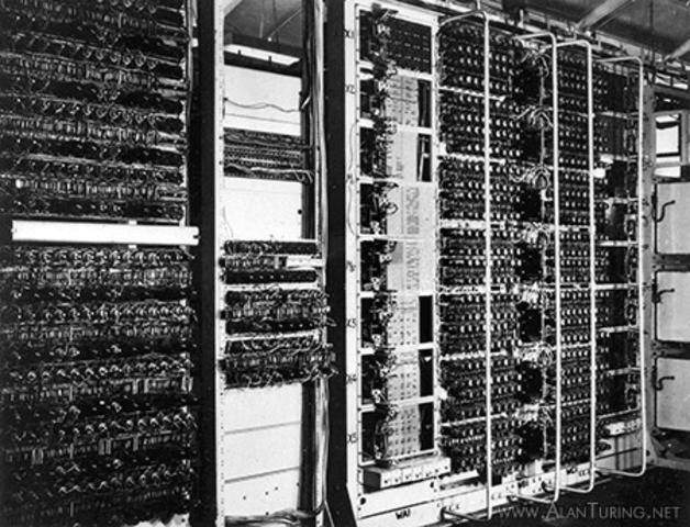 The Collosus programmable computer invented