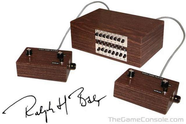 """The first video game console- the """"Brown Box"""""""