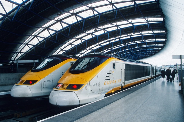 EuroStar Train Service Launched