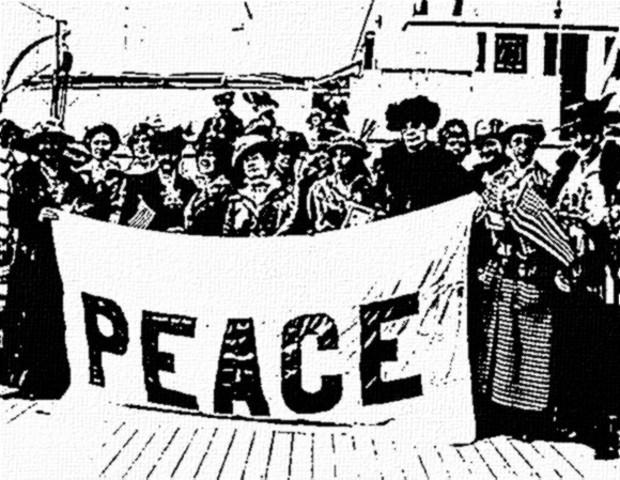 Creación de Liga Femenina Internacional por la Paz y la Libertad