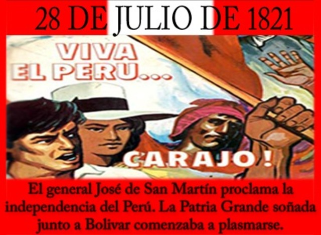 Independencia de Perú