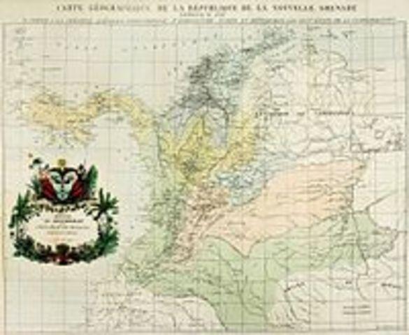 CONFEDERACION GRANADINA - FEDRALISMO Y CENTRALISMO