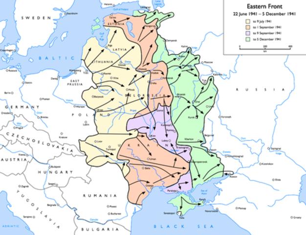 Nazi invasion of the Soviet Union