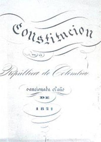 CONSTITUCION DE CUCUTA O LA GRAN COLOMBIA