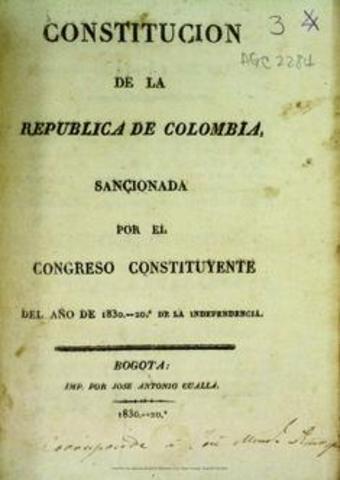 CONSTITUCION REPUBLICA DE COLOMBIA