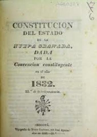 CONSTITUCION DE LA NUEVA GRANADA
