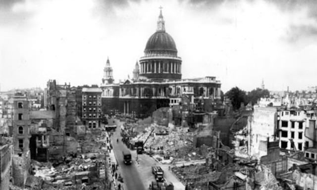 Blitzen – bombningen av London