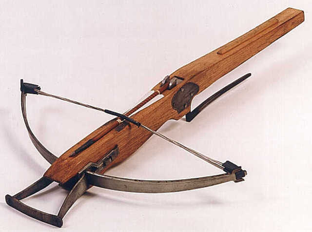 First use if the crossbow