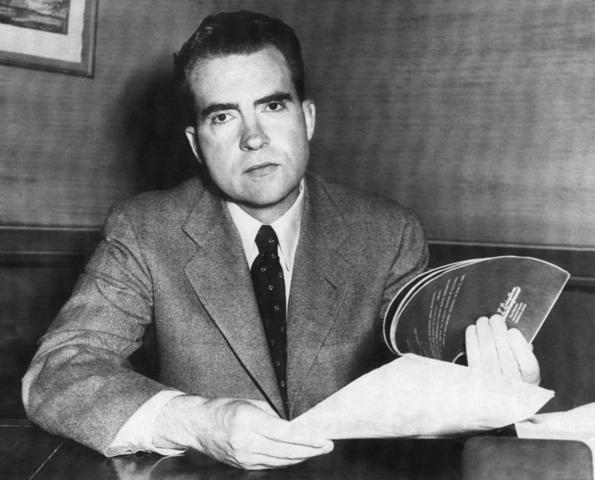 Richard Nixon was born.