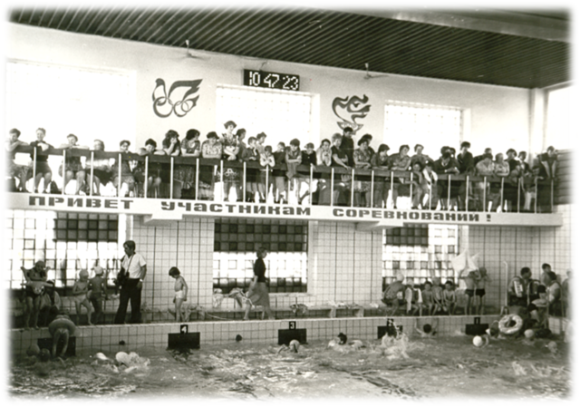 """Спортивный праздник в плавательном бассейне """"Дельфин"""""""