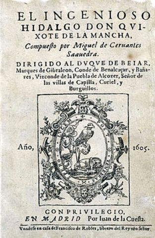 """Primera edició de """"El Quijote"""""""
