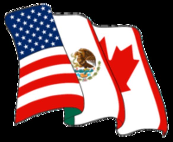•NAFTA Passed