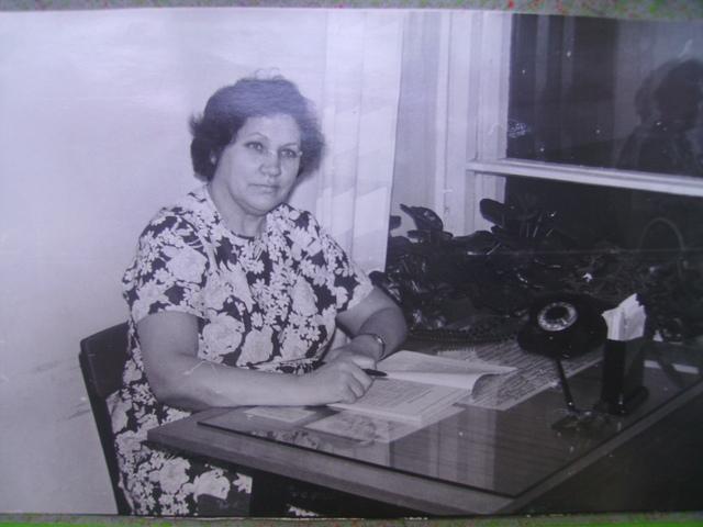 Первая заведующая: Горшкова    Клавдия  Георгиевна