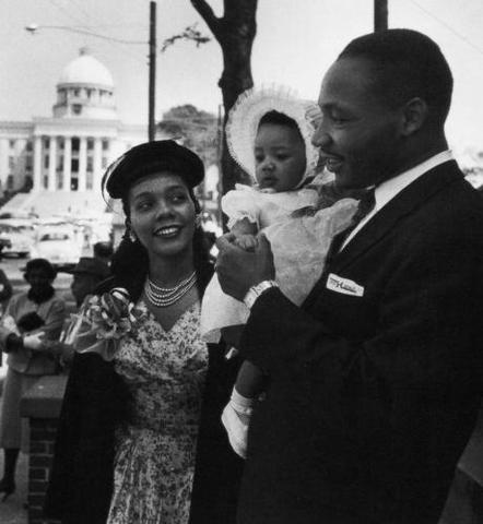 Martin Luther King, Jr.'s first daughter is born.