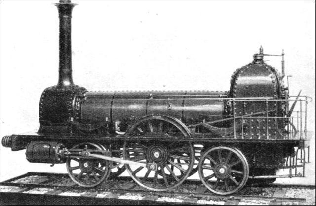 George Stephenson's 8 Ton Locomotive