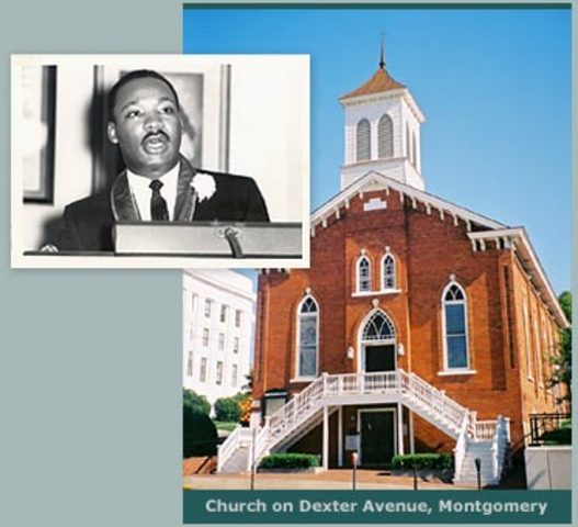 Martin Luther King, Jr. becomes a pastor.