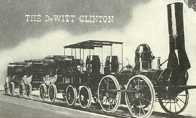 3.5 De Witt Clinton & Isaac Dripps' Locomotive