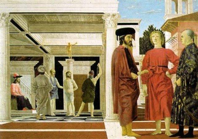 Из дворца Ducal украдены две картины Пьера делла Франческо «Бичевание», «Мадонна Сенигаллия» (Madonna di Senigallia) и полотно Рафаэля