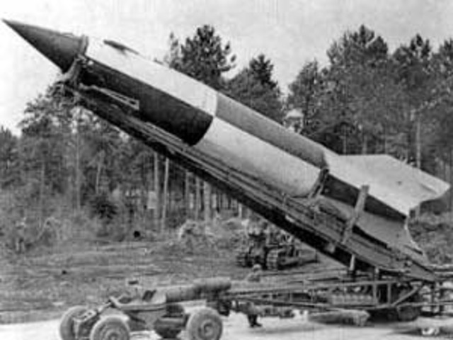 First V-2 Rocket Launched
