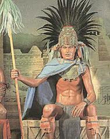 Moctezuma II: Starts as Emperor