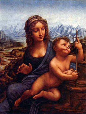 в резиденцию герцога Бакклю в Шотландии похищена картина «Мадонна с веретеном» Леонардо да Винчи