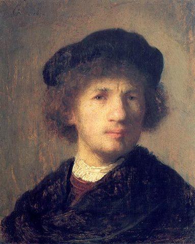 в Национальном музее Стокгольма похищена картина Рембрандта «Автопортрет» и две картины Пьера Огюста Ренуара