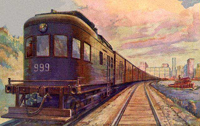 The Internal Combustion Engine Locomotive.