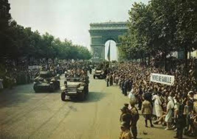 Germany Enters Paris