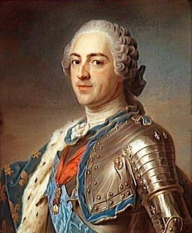 MUERTE DEL REY LUIS XV DE FRANCIA