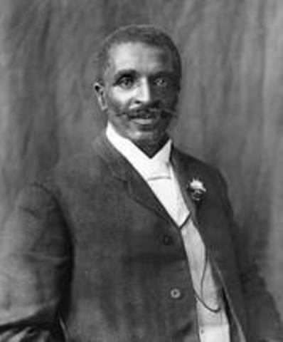 George Washington Carver dies