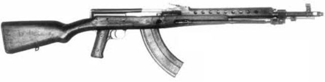 The Assult Rifle was invented