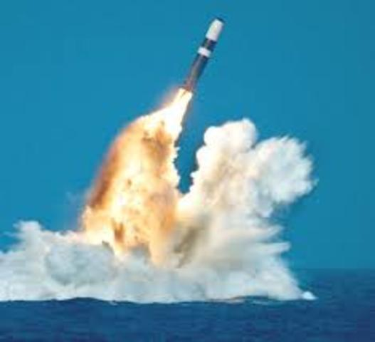 The ballistic missle was invented
