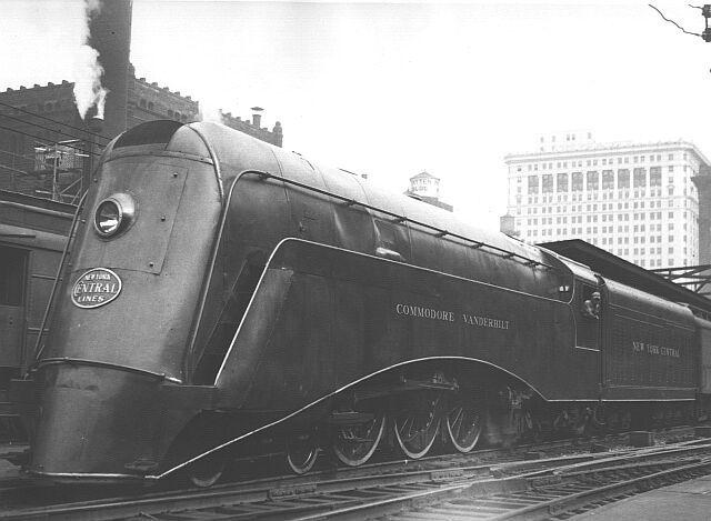 The Steamliner & Steamlined Electric Locomotives
